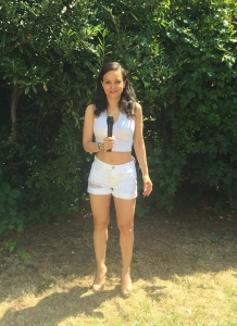 Reporting from a barracks in southern sudan in a pair of hot pants (2)