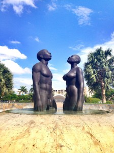 Emancipation Park Statues, Jamaica, drugs, mental health,