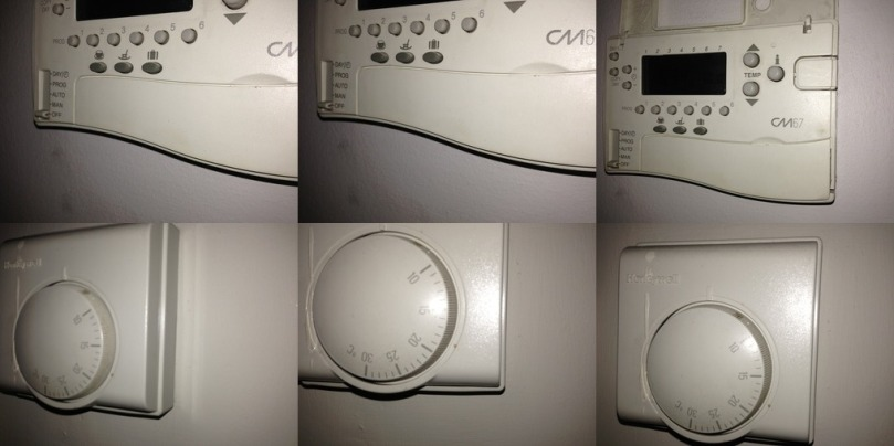 As the building project progresses at my house in Notting Hill my OCD gets worse I started taking multiple photographs of the Honeywell central heating controls and checking the locks and windows and plug sockets 45 minutes a day