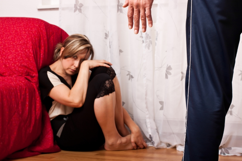 Domestic violence image