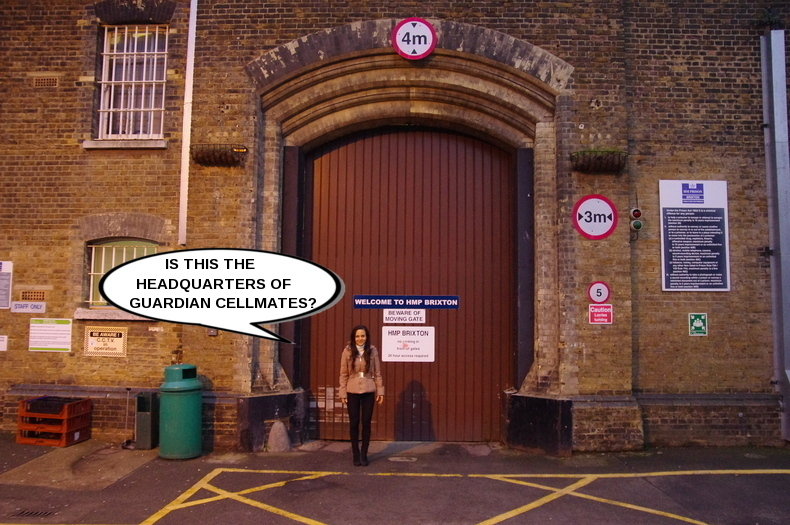 BRIXTON PRISON GUARDIAN CELLMATES